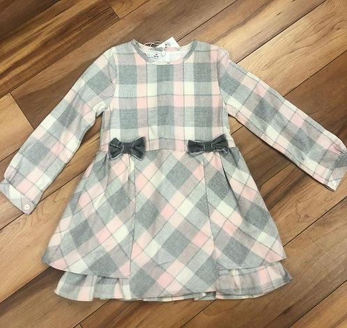 Mini Bol - Pink & Grey Dress