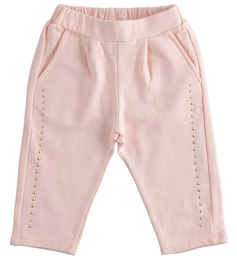 iDO - Pink Knitted Trousers