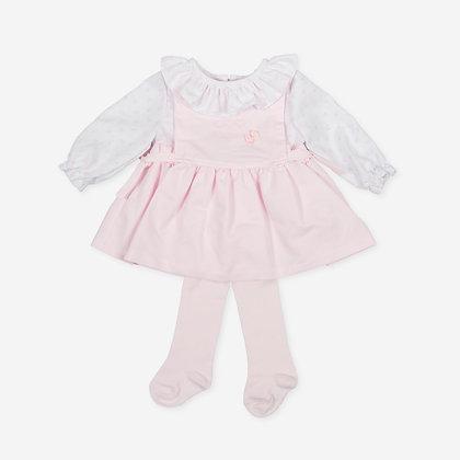 Tutto Piccolo Carina - Pink Dress & Tights