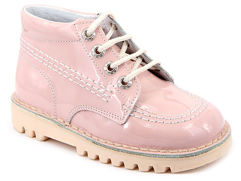 Leon Boots -  Pink Patent
