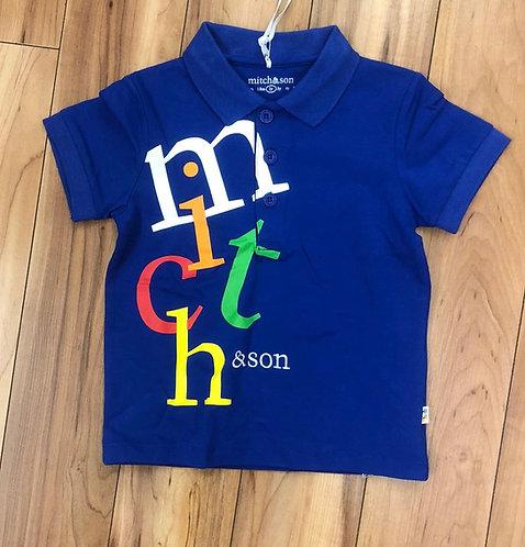 Mitch & Son - Parker Blue T-Shirt