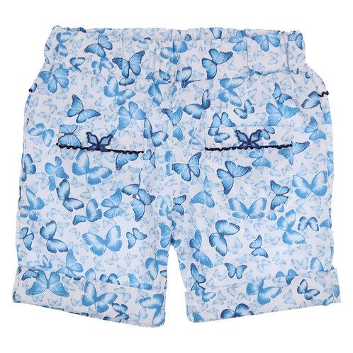 GYMP - White & Blue Shorts