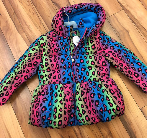 Arianna Dee  - Multi Coloured Puffa Coat