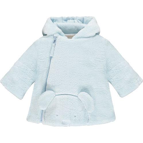 Axel - Deep pile fleece Jacket with 3D teddy & Hood