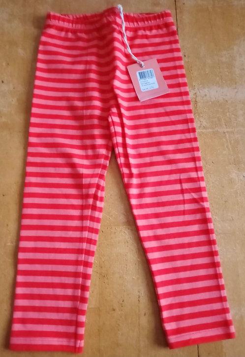 RoomSeven Coral Pink Stripe Leggings