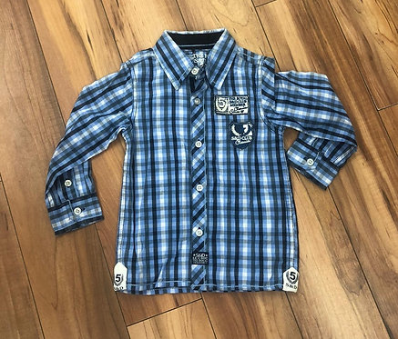 Le Chic - Blue Check Shirt