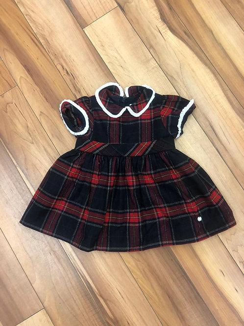 Patachou - Check Print Dress