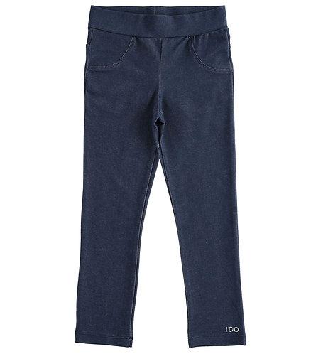 iDO - Pretty denim effect knitted leggings
