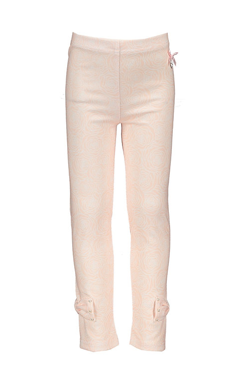 """Le Chic - Pink Legging """"Field of roses"""""""