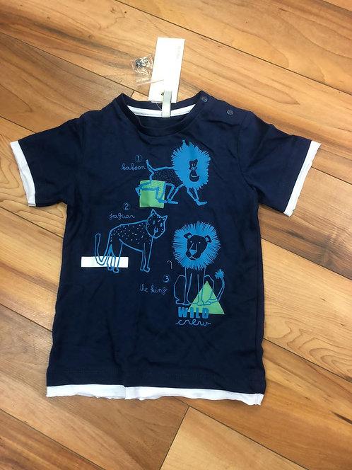 Birba - Navy Monkey T-Shirt