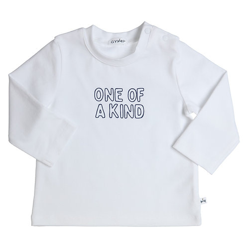 GYMP -  White One Of A Kind  Long Sleeve