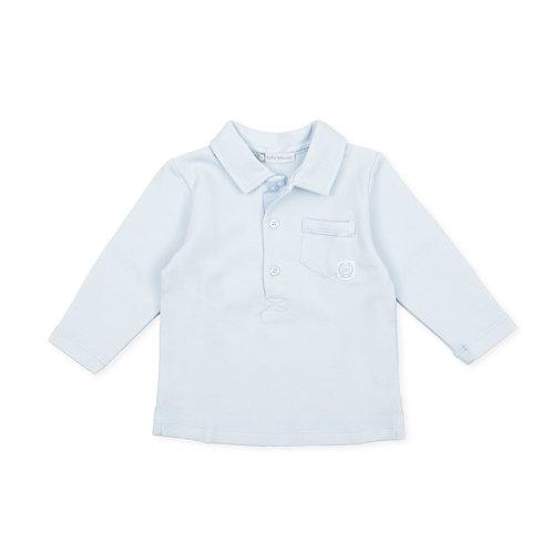 Tutto Piccolo Borealis -  Sky Blue Polo shirt