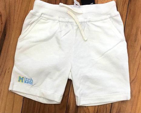 Mitch & Son White Shorts