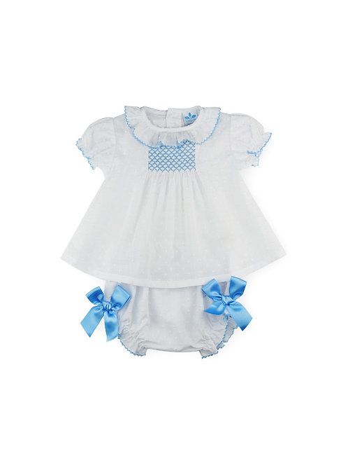 Sardon -White & Blue 2 Piece Set