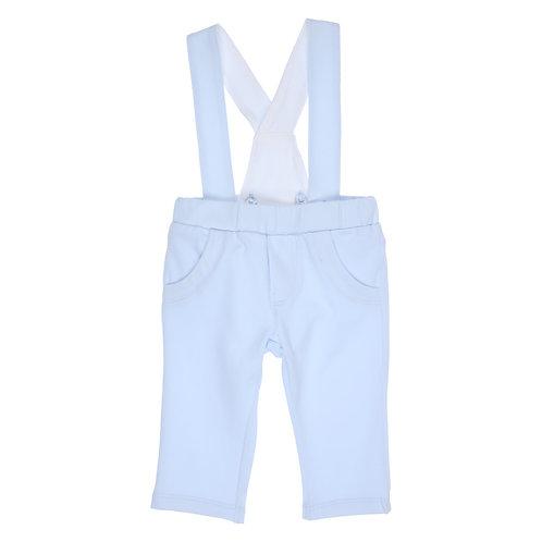 GYMP AERODOUX - Light Blue Pants with Braces