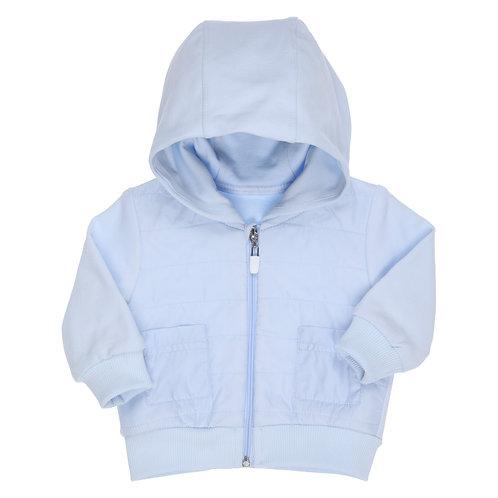 GYMP - Light Blue Cardigan With Hood