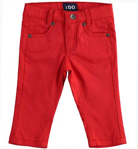 iDO - Red Long Trouser
