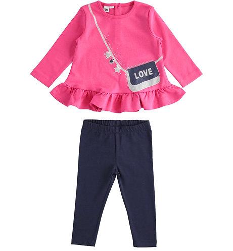 iDO - Fuchsia Long Sleeved Set
