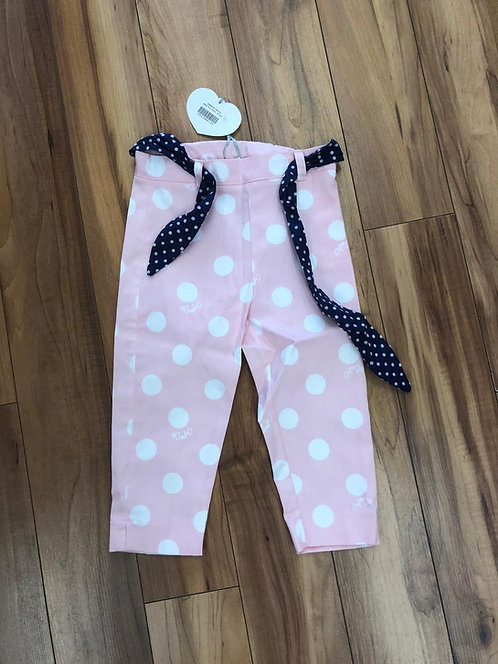 A Dee Pink Dot Pants