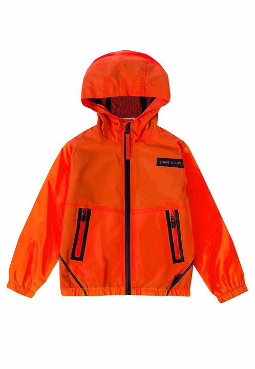 UBS2 - Red Jacket with Hood