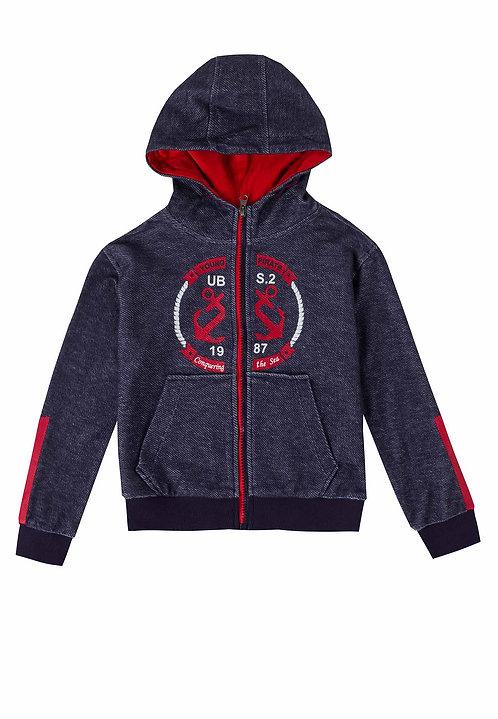 UBS2 -Navy Zip Sweatshirt