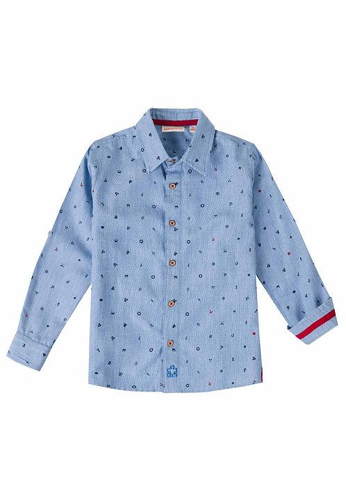 UBS2 - Blue & Navy Shirt