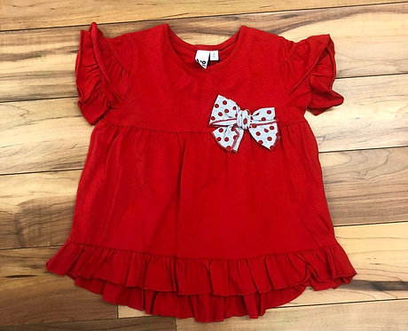 iDO Red Bow Top