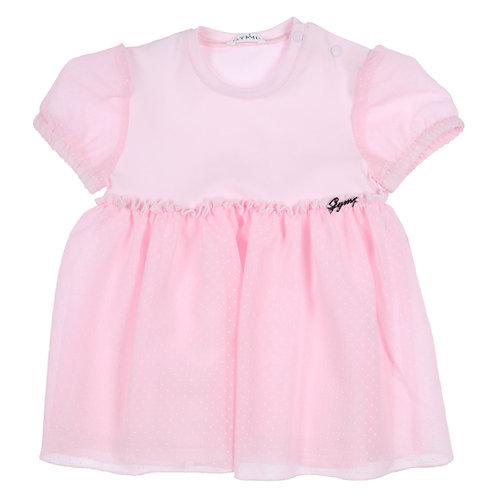 GYMP - Light Pink Cap Sleeve Dress
