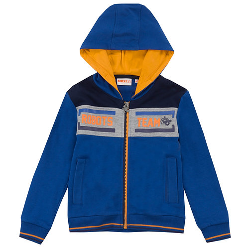 UBS2 - Royal Blue and Orange Zip Hoodie