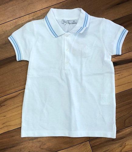 Patachou - White Polo Shirt