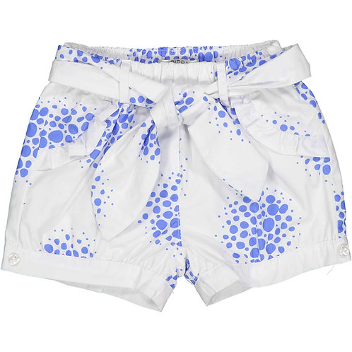 Birba -White & Blue Shorts