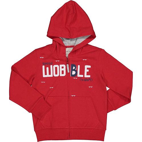 Trybeyond  - Red Zip Up Hoody