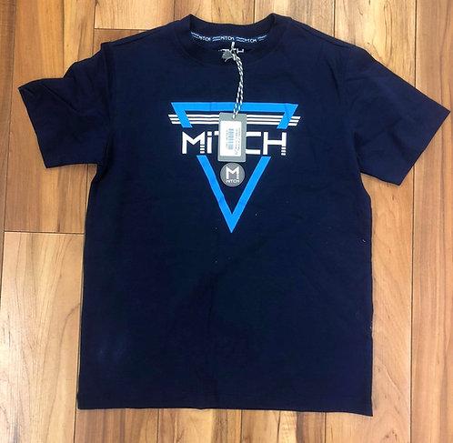 Mitch & Son -  Christian Navy T-Shirt