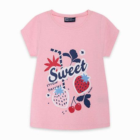 Tuc Tuc - Pink Strawberry T-Shirt