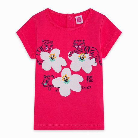 Tuc Tuc - Pink Flower T-Shirt