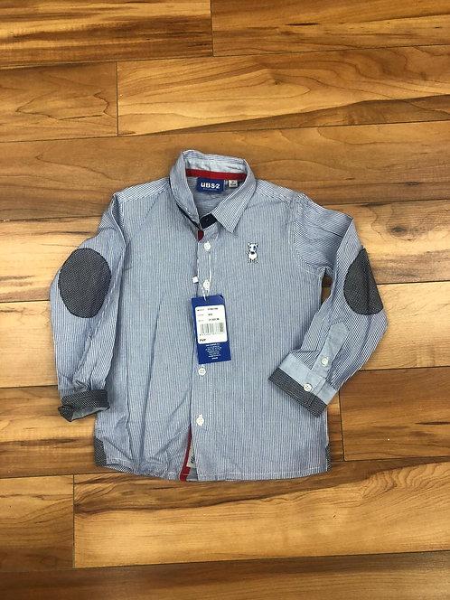 UBS2 - Light Blue Stripe Shirt