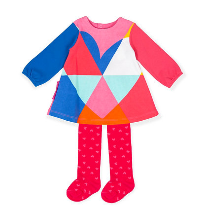Agatha Ruiz de la Prada P.Patchwork - Dress & Tights