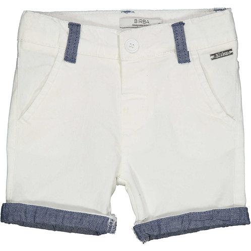 Birba -White Shorts