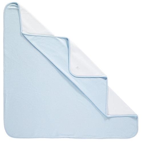 Garrison - Interlock Blanket -Pale Blue