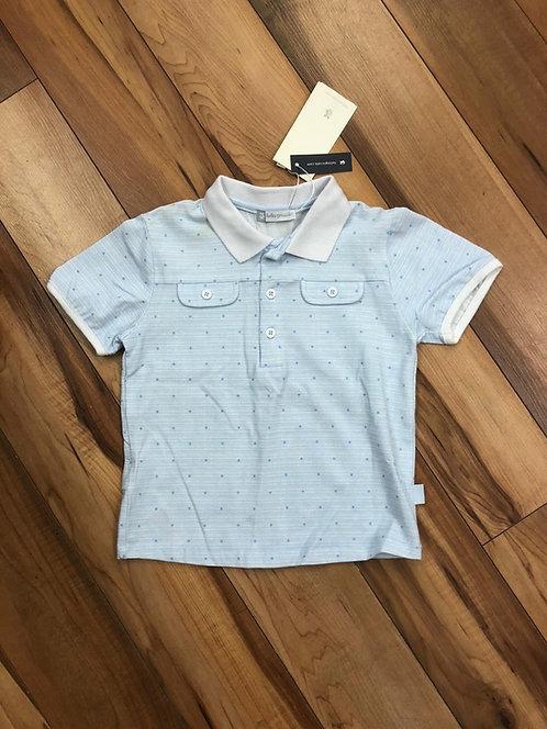 Tutto Piccolo- Blue Polo Shirt