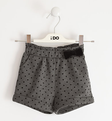 iDO - Short trousers for girl in Milano stitch