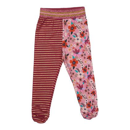 Happy Calegi - Mix Floral and Stripe Leggings