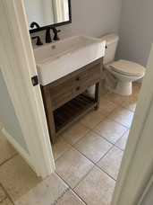 Secondary Bathroom Before