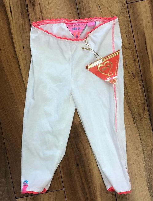 Mimpi - White & Pink Leggigns