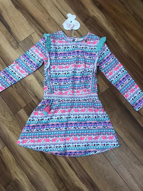 Mimpi colourful dress