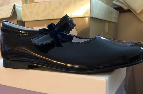 Shoes -  Navy Patent