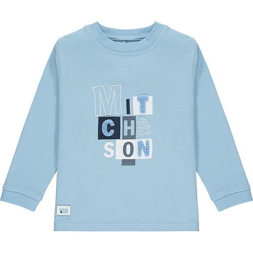 Mitch & Son - Pinkston Pale Blue Long Sleeve