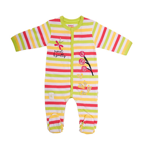 Babybol - Stripe Babygrow