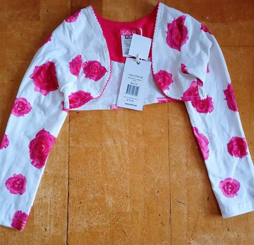 Lofff Pink Rose Bolero