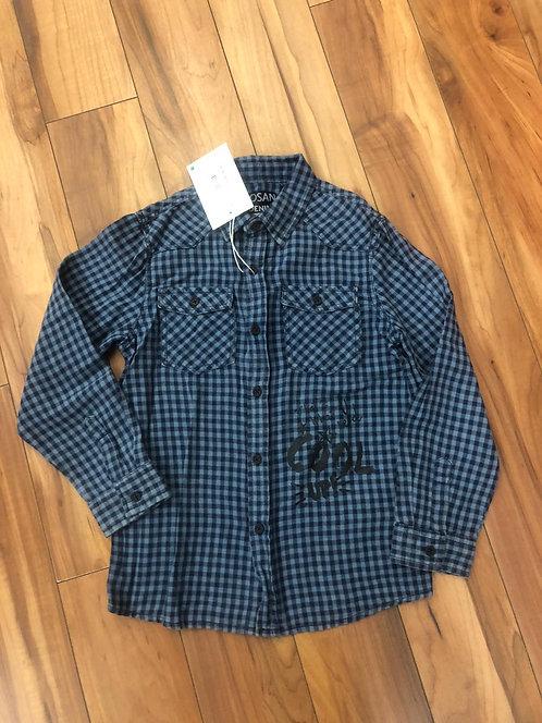Losan - Blue & Navy Check Shirt